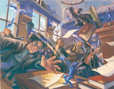 """Aula de Defesa Contra as Artes das Trevas com Gilderoy Lockhart em """"A Câmara Secreta"""""""