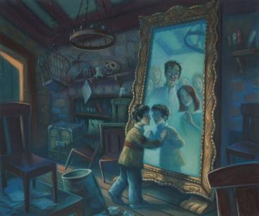 """O Espelho de Ojesed em """"A Pedra Filosofal"""""""